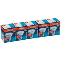 Osram  Halogen GU10 Light Bulbs 50W - 5 Pack