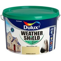 Dulux Weathershield Masonry Colours - 10 Litre