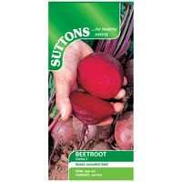 Suttons  Beetroot Globe 2 Vegetable Seeds
