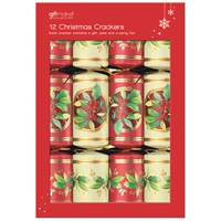 Anker  Christmas Crackers Holly Design - 12 Pack