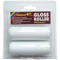 Fleetwood  4in Gloss Roller Sleeve - 2 Pack