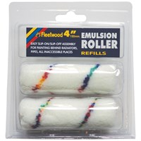 Fleetwood  4in Emulsion Roller Sleeve - 2 Pack