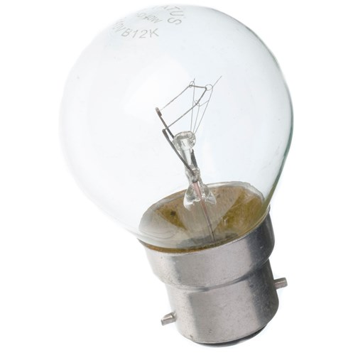 Status  Incandescent Golf Ball Light Bulb - 40W BC