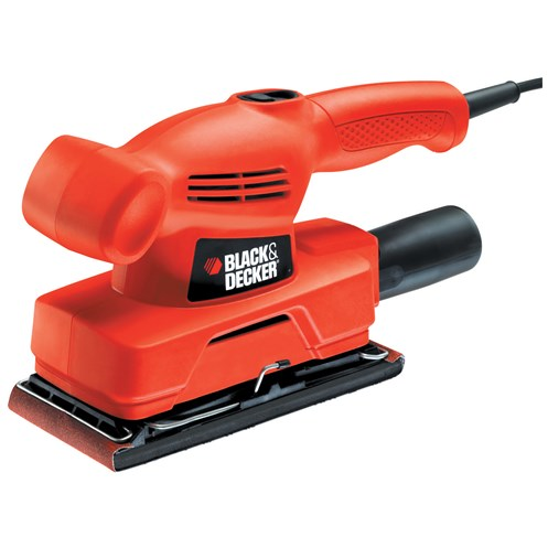 Black & Decker  KA300 Orbital Sander & 1/3 Sheet - 135 Watt
