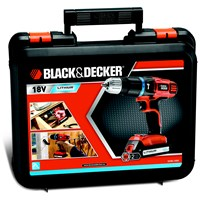 Black & Decker  BLEGBL188KGB 2 Gear Hammer Drill - 18V