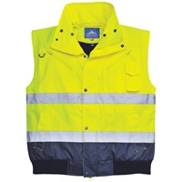 Portwest  3-in-1 Bomber Jacket - Yellow