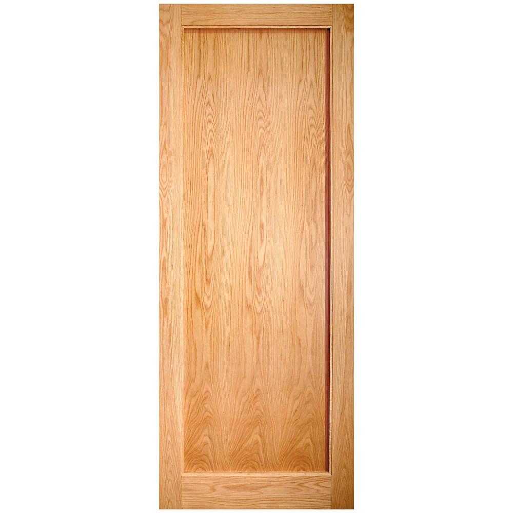 Indoors Rushmore Shaker Interior Oak Door Pre Finished Oak Doors