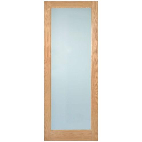 Indoors Rushmore Shaker Lamsafe Glazed Interior Oak Door Pre
