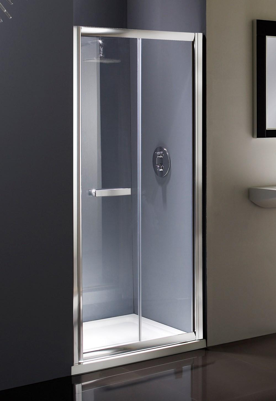Topline Showers Flair Bifold Shower Door Shower Doors