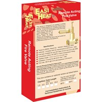 Easi Heat  66°C Remote Acting Fire Valve