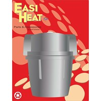 Easi Heat  Aluminium Oil Filter - 3/8in