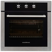 NordMende  Black & Stainless Steel Single Fan Oven & Grill - SO203IX