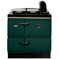 Stanley  Brandon 10 Cast Iron Oil Range Cooker - Forest Green