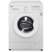 LG  White Direct Drive Freestanding Washing Machine 7kg - LGF12B9QDA